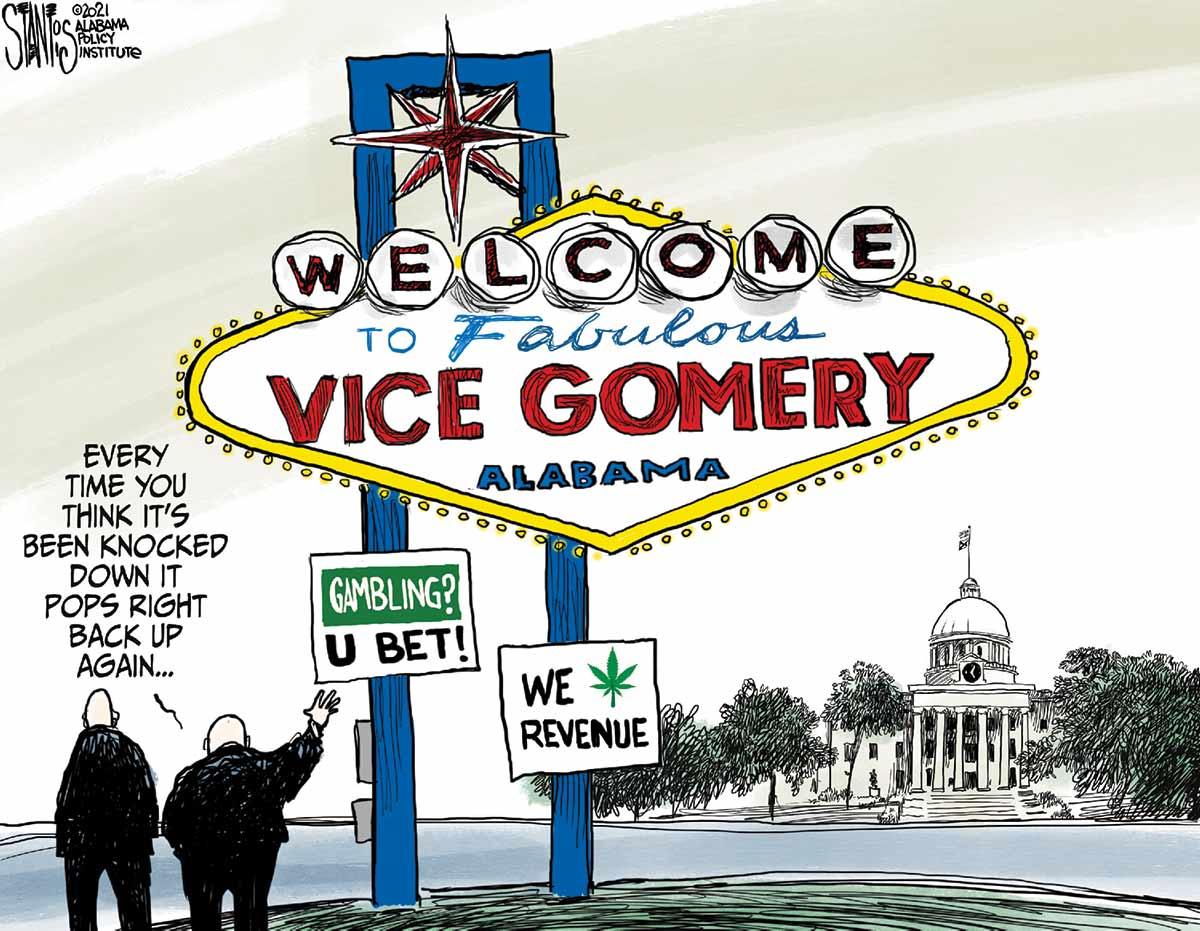 vicegomery cartoon